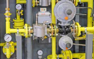 Gas Control Installation