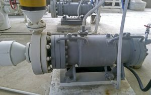 The pump for pumping hot Products