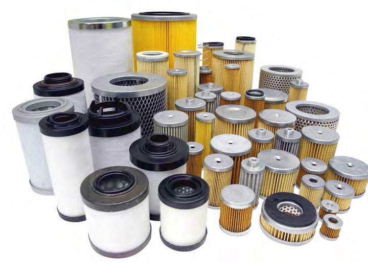 Rietschle Exhaust Filter Kits